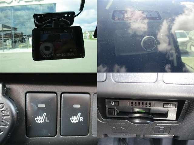 ドライブレコーダー・シートヒーター・ETC付いてます