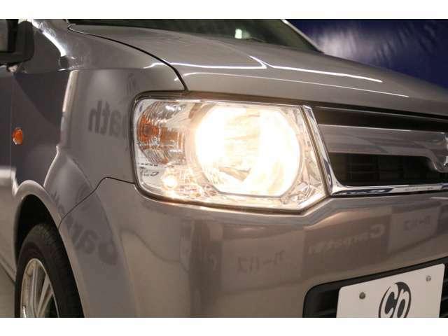 【ハロゲンヘッドライト】車検対応の最新LEDヘッドライトやHIDヘッドライト等へのお取替えも行っております。お気軽にご相談ください。