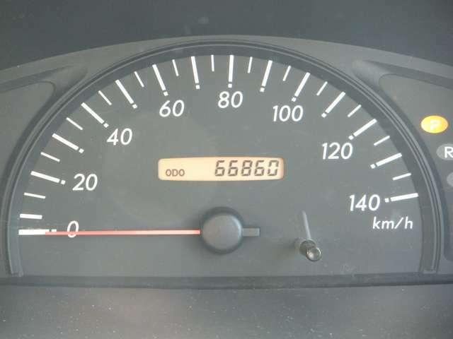 走行66860km