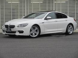 BMW 6シリーズグランクーペ 640i Mスポーツ LED ガラスSR 黒革 19AW Dアシスト 禁煙