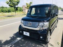 ホンダ N-BOX+ 660 カスタムG Lパッケージ 4WD エンスタ・バックカメラ・ETC・パワスラ
