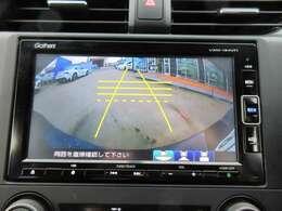 純正ギャザーズメモリーナビ♪ ガイド付きバックカメラになりますので。駐車も安心ですね♪