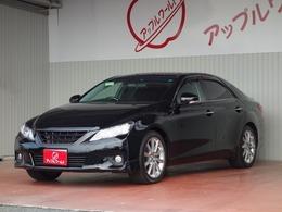 トヨタ マークX 2.5 250G Sパッケージ 車検R3/7 メーカーナビ+Bモニタ 18インチAW