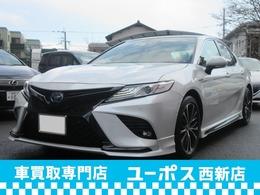 トヨタ カムリ 2.5 WS レザーパッケージ 1オーナー TRD SR 黒レザー JBLサウンド