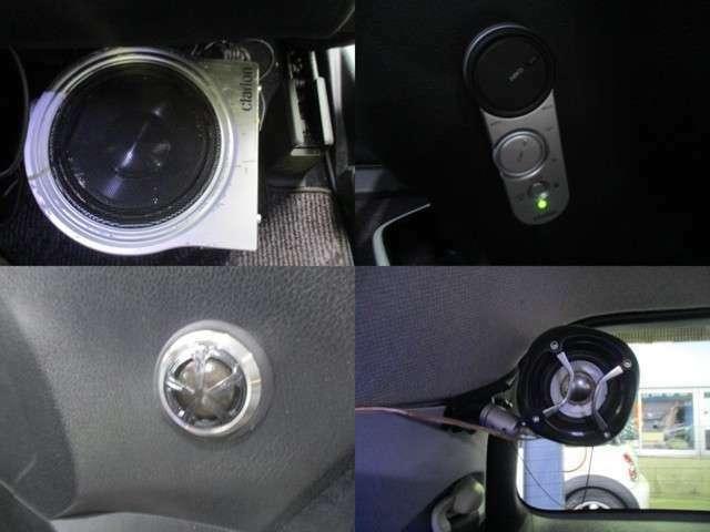 サブウーファー・ツイーター装備☆迫力ある音響でドライブが楽しくなります☆