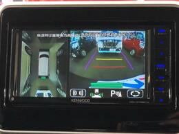 【全方位モニター用カメラ】専用のカメラにより、上から見下ろしたような視点で360度クルマの周囲を確認することができます☆縦列駐車や幅寄せ時に活躍してくれます♪
