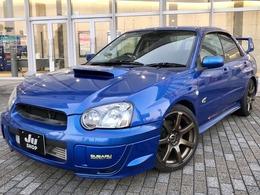 スバル インプレッサ 2.0 WRX WRリミテッド 2004 4WD タイベル交換済/車高調/マフラ/EVC/ナビ