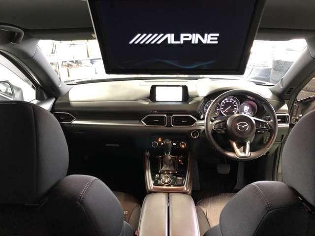 リアシートモニター装備なので、後席の人もテレビやDVDを楽しみながらドライブ出来ます!