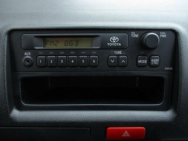 ■装備1■FM・AMラジオ