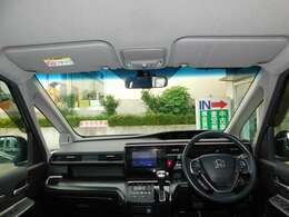 フロントガラスの画像です!新車店からの下取りをはじめ厳選して仕入れた優良中古車をご紹介いたします!ご希望のお車をお探しいたします!ホンダ車のことならお任せください!