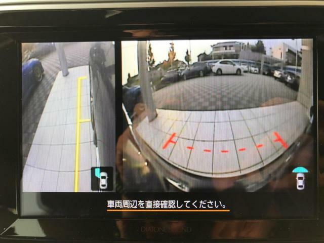 死角になる部分を目視できるサイドカメラ・フロントカメラを装備!特に大きいお車には人気の装備です☆