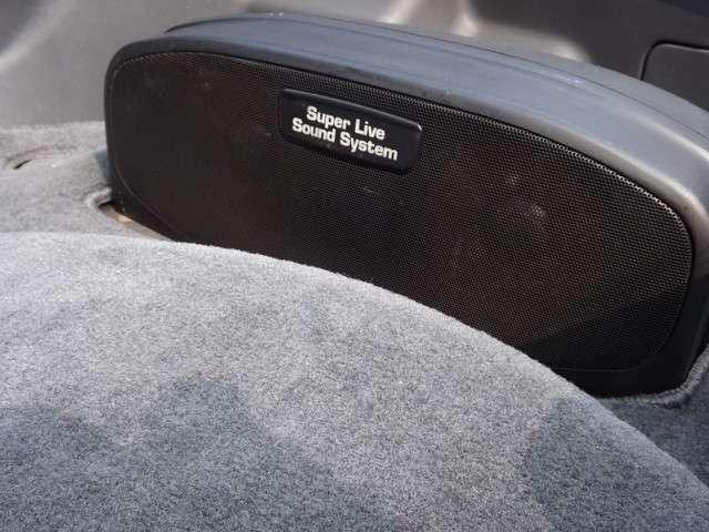 ★ライブサウンドシステム搭載♪この車に相応しい豪華装備です♪