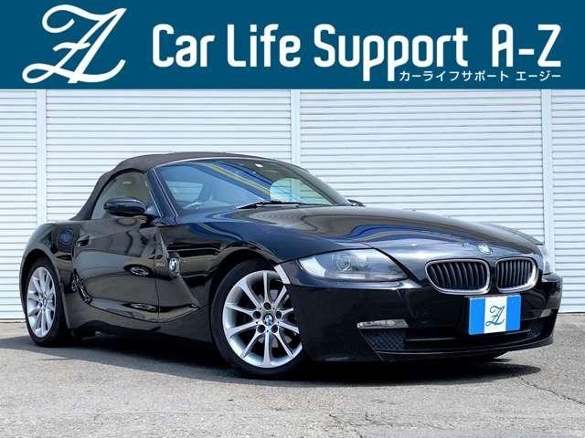 ★スタイルの良いオープンカー「BMW Z4 ロードスター2.5i」入庫!こちらのお車は幅広い世代の方から人気のオープンカーとなり、BMWの走る楽しさやデザイン性の高さをご堪能できる大変魅力的な1台です!★