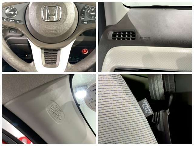 運転席、助手席エアバックはもちろんの事、サイドカーテンエアバックも装備しています。