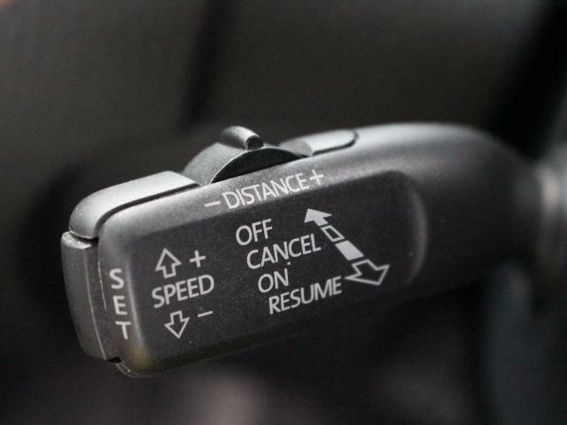 クルーズコントロールを装備、高速道路走行が多い方には嬉しい装備です。