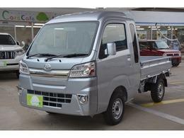 ダイハツ ハイゼットトラック 660 ジャンボ 3方開 4WD 4WD 5MT ブルーレイ搭載ナビETCマット付