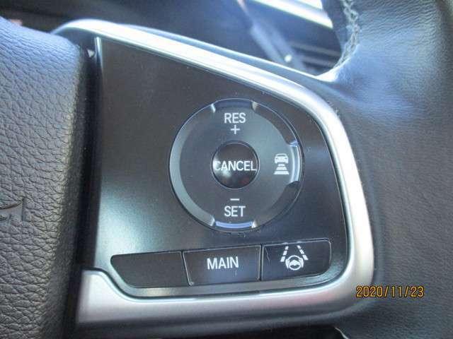 クルーズコントロール機能で高速でも楽々運転♪