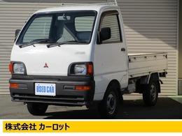 三菱 ミニキャブトラック 660 Vタイプ 三方開 4WD エアコンレス・4WD・4MT