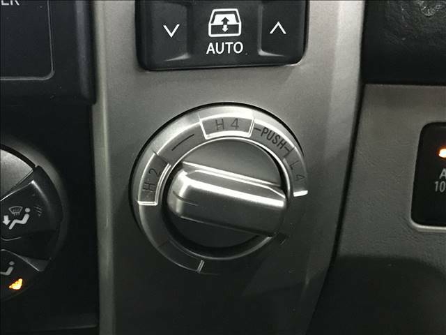 4WD切り替え。