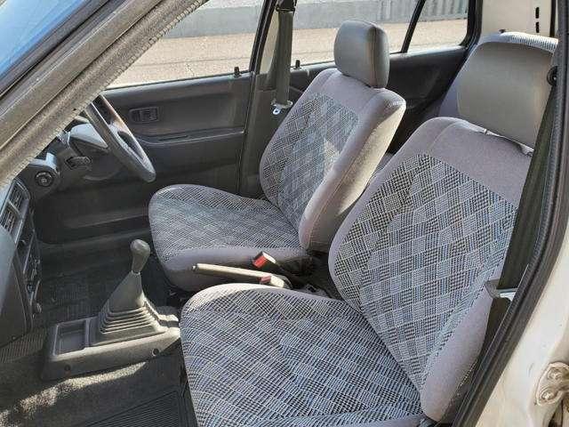 フロントシートきれいです♪