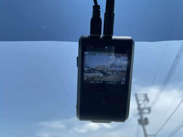 ドライブレコーダー(前後カメラ付き)