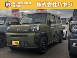 ダイハツ タフト 660 X 届出済未使用車 青空SUV
