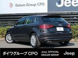 弊社グループ会社BMW正規販売代理店よりお下取りで入庫いたしました。「出どころがハッキリしている。」Audi A3 スポーツバックです。