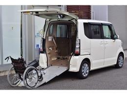ホンダ N-BOX+ 660 G 車いす仕様車 リアスロープ4名乗車可/電動ウインチ