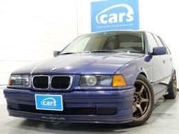 BMWアルピナ B3ツーリング 3.2 黒本革シート サンルーフ 記録簿付