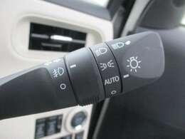 ライトはオート機能付きです!