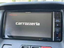 「ナビ」 カロツェリア製ナビ付きで知らない土地のドライブも安心!CD、DVD、TVも楽しめます♪