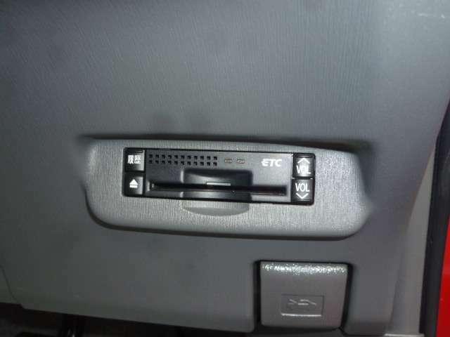 ETCを備えております!高速道路の料金決済がキャッシュレスにてスマートに対応が可能です!!