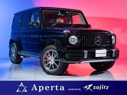 メルセデスAMG Gクラス G63 4WD 右ハンドル白革レザーエクスクルーシブ保付