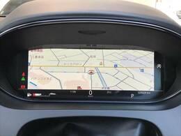 フル液晶メーターパネル『マップや、メディアなど様々な情報を液晶に映し出すことが可能です。』