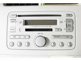 純正『CD/MDオーディオ』装備。お好みのサウンドで楽しくドライブ♪ナビゲーションなどの取り付けもご相談ください♪