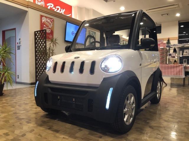 超小型電気自動車♪電気で走るEVです♪普通免許でお乗りいただけます♪試乗車あります!