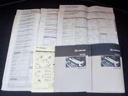 新車保証書メンテナンスノート完備!!記録簿は17回分が確認できこれまでのオーナー様の扱いの良さを感じるポイントです。整備内容も確認しご案内させて頂きますのでお気軽にお申し付け下さいませ!!