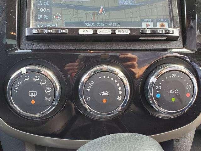 オートエアコンですので、自動で調節ができます♪効き具合も問題御座いません♪