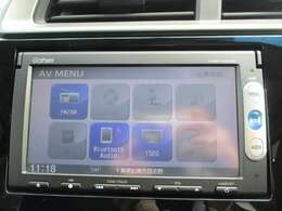 純正メモリーナビ(VXM-145VSi)です。DVD/CD再生のほかにもワンセグTV、Bluetooth連携機能も装備されとっても便利です!