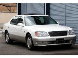 トヨタ セルシオ 4.0 A仕様 eRバージョン装着車 DVDマルチ 黒革シート SR OPリアスクリーン