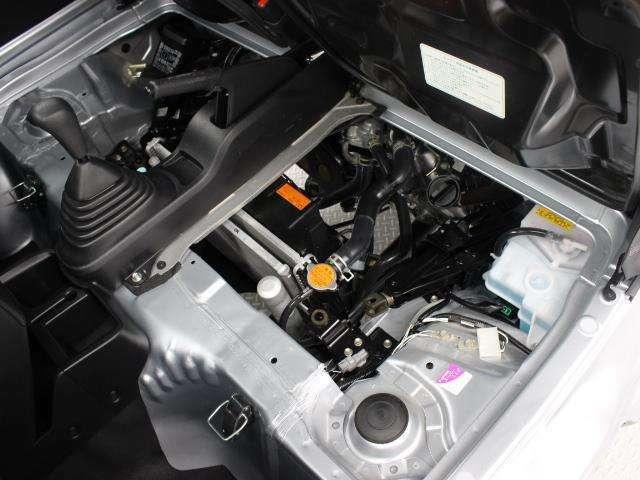 KF-VE4型 直3 658cc DOHCエンジン搭載、4WD駆動です。