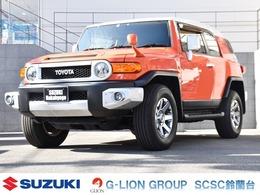 トヨタ FJクルーザー 4.0 カラーパッケージ 4WD 1オーナ/白2トーンルーフ/バンパーフォグ
