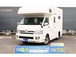 トヨタ ハイエース キャンピング ファンルーチェセレンゲティ 4WD 常設二段ベッド FFヒーター