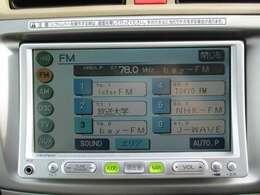 純正ナビ(VXD-085C)です。CD再生機能も装備されとっても便利です!
