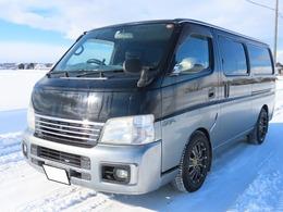 日産 キャラバン 2.4 GX スーパーロングボディ ガソリン FR Rヒーター 検R3/4 貨物