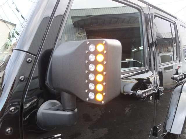 LED消灯時のウインカー点灯状態です。
