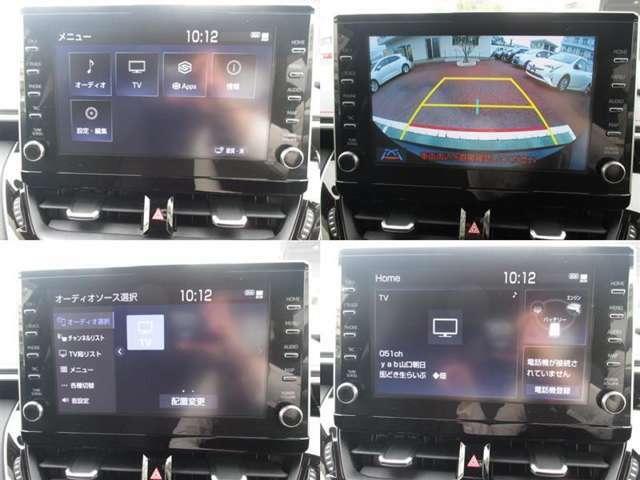 こちらはディスプレイオーディオです♪スマートフォンと接続し、マップなど使用することができます☆