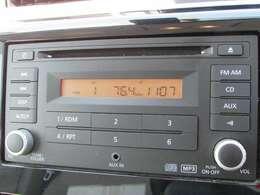 純正CD・FM・AMチューナー今の主流ステレオです、ラジオも楽しめます・