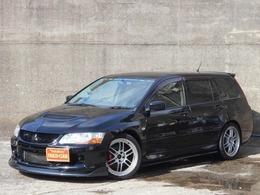 三菱 ランサーエボリューションワゴン 2.0 GT 4WD 6速マニュアル SDナビ エンケイ18AW