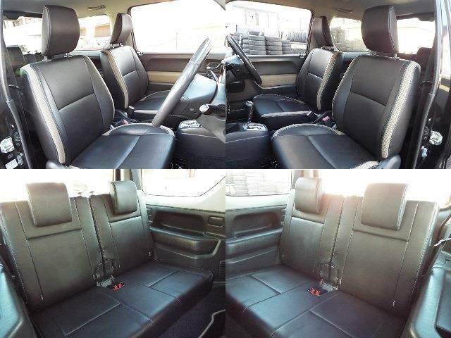 スズキジムニー特別仕様車ランドベンチャー専用シートで室内もかっこいいです!